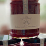 Raspberry and Redcurrant Jam stacked