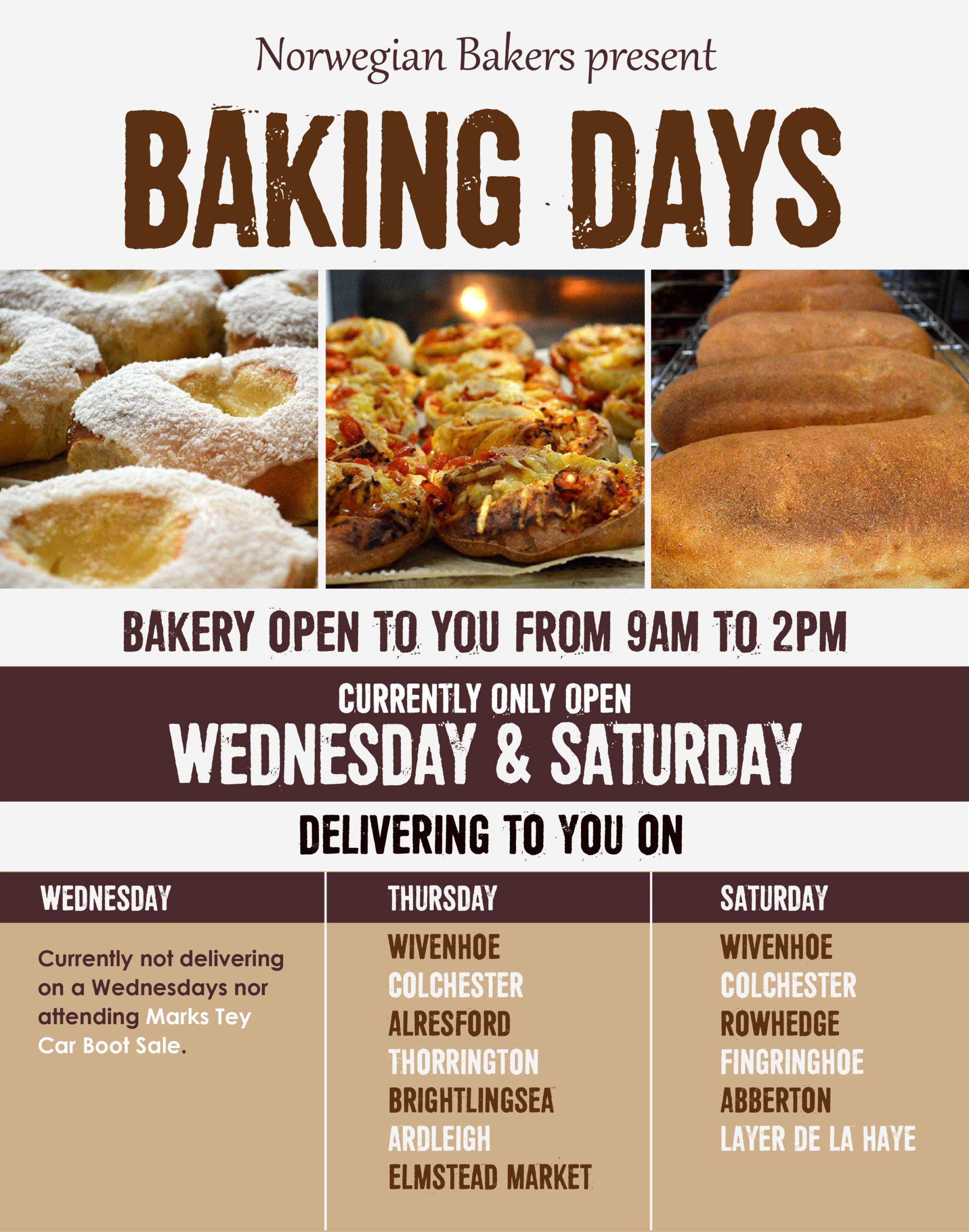 Baking Days May 2021